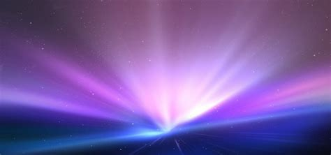Bright Light Colorful Blue Star Background Banner, Bright