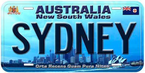 Buy Ebay Gift Card Australia - nsw sydney australia novelty car auto license plate b10 ebay
