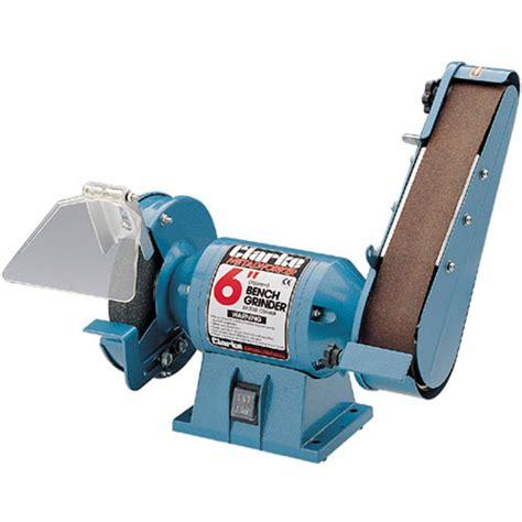 bench grinder sander cbg6sb 6 quot bench grinder with sander clarke