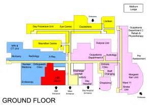 general hospital floor plan bgh gf thumb