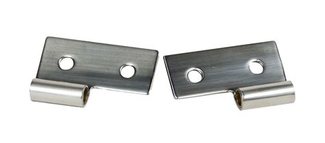 Jeep Wrangler Door Hinges Kentrol Stainless Steel Lower Door Hinge Brackets For 76