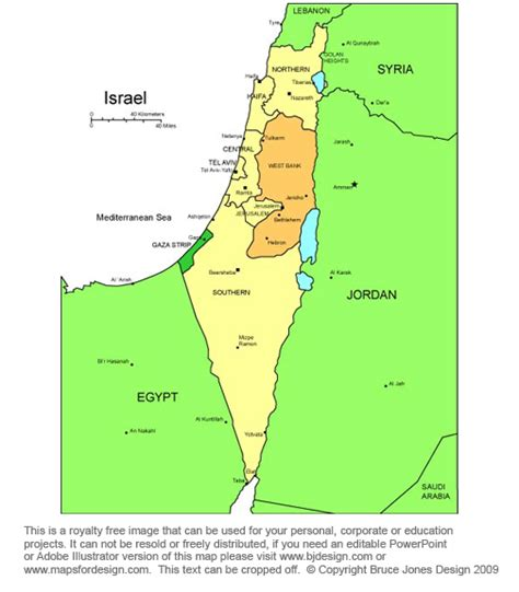 printable map israel bible and religious country middle east maps printable