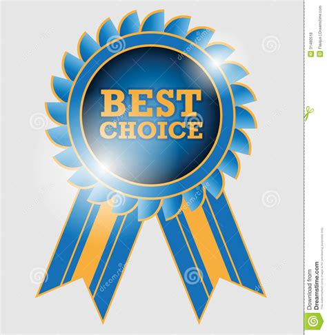 best choice label royalty free stock photos image 31480518