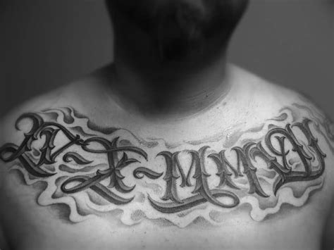 tattoo writing for men 30 phenomenal number tattoos golfian