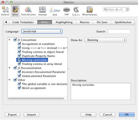 tutorial netbeans javascript editing javascript netbeans ide tutorial