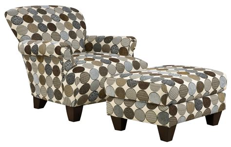 fabric chair and ottoman sets chairs amazing accent chairs with ottoman chair and