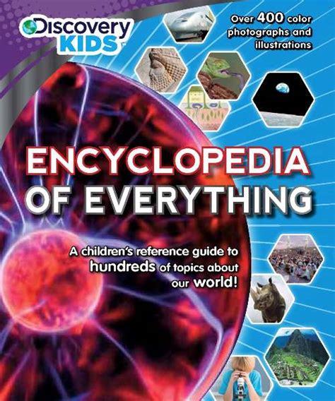 everything you a picture book books encyclopedia of everything discovery