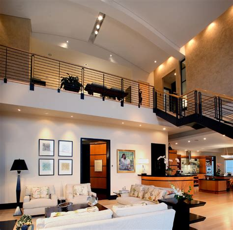 Modern Rustic Home Design Ideas urban penthouse loft modern living room atlanta by