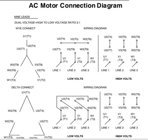 motor nameplate wiring diagram image collections wiring