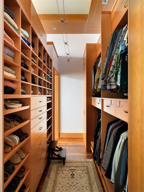 Narrow Closet Solutions by 18 Walk In Closet Designs Ideas Design Trends
