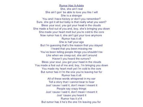 adele rumour has it download adele rumor has it lyrics download