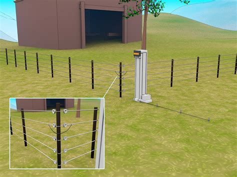 electric fence installation electric fencing for profitable farming investment ellecrafts