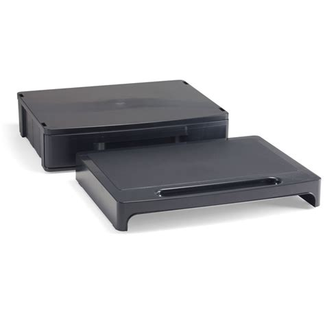 Monitor Stand Drawer by 2200 Series Monitor Stand With Drawer Hipaa Black