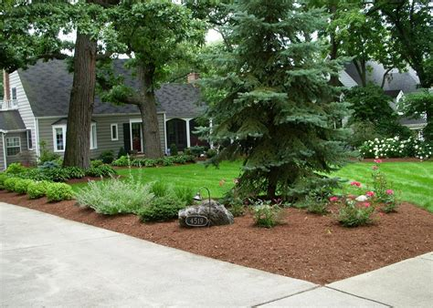 landscaping ideas for large front yards