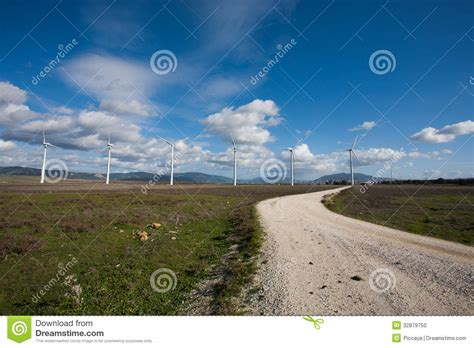 tarifa art 142 rlisr tarifa art 142 rlisr tarifa wind mills stock photo image