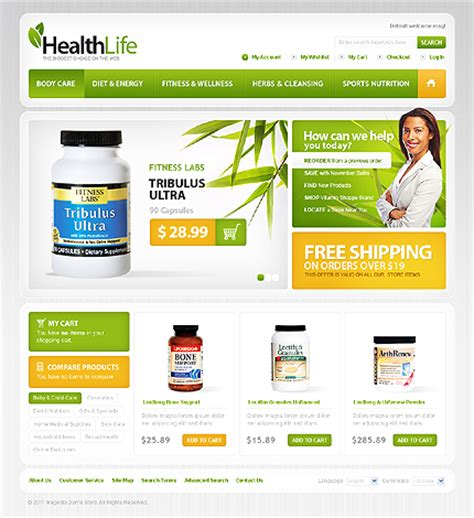 20 Best Ready Made Website Templates For Commerce Catch Your Success Creative Beacon Ready Made Website Templates
