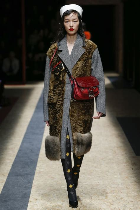 Miuccia Prada Bored With Fur by S Fur Coats Fall Winter 2016 2017 Cinefog