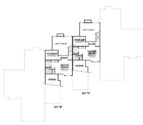 6 plex floor plans carol anne modern four plex plan 072d 0149 house plans