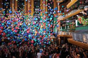 carnival glory new year balloon drop carnival cruise