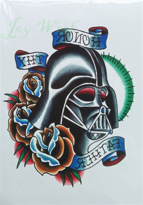 star wars temporary tattoos waterproof temporary sticker large wars