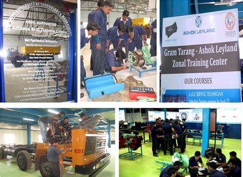ashok industries ashok leyland gram tarang employability training services