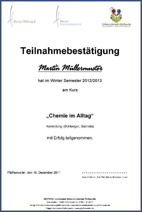 Muster Einladung Firmenevent Teilnahmebest 228 Tigung Hector Kinderakademie Schneckentalschule Pfaffenweiler