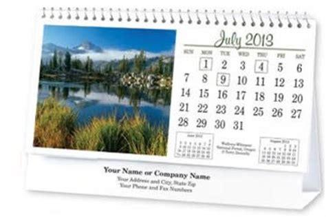 custom tent desk calendars personalized in bulk