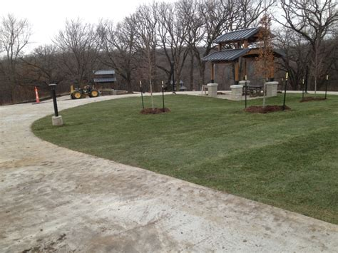 Furniture Row Cedar Rapids by Plaine Nursery Commercial Landscaping Iowa