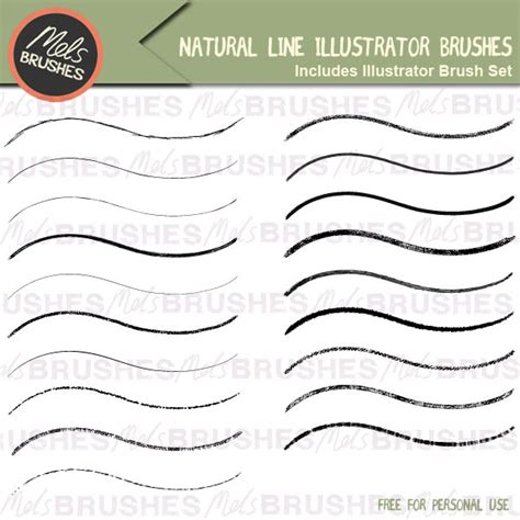 illustrator template artist sketch cards free line illustrator brushes mels brushes