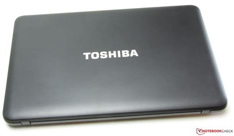 review toshiba satellite c850 1lx notebook notebookcheck net reviews