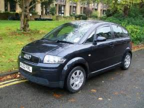 Used Audi A2 For Sale Uk Used 2002 Audi A2 Hatchback Blue Edition 1 4 Tdi 5dr