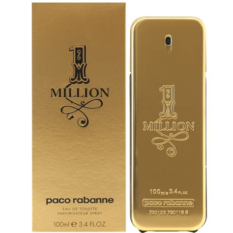 Parfum Million 1 million by paco rabanne mens cologne perfumery