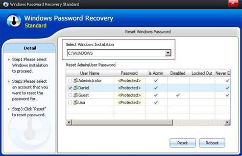 password reset windows xp software smartkey windows password recovery standard