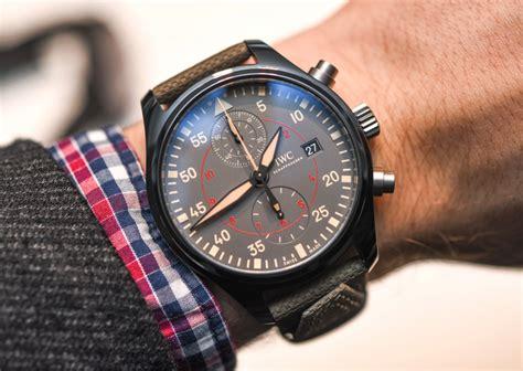 best iwc watches iwc pilot s chronograph top gun miramar on