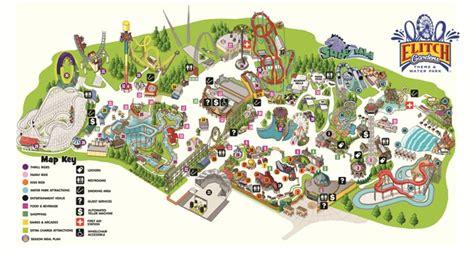 elitch gardens map