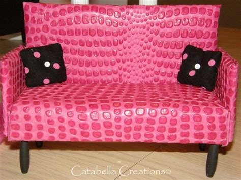 hot pink leather sofa pin by cathie soyars on by catabella creations pinterest