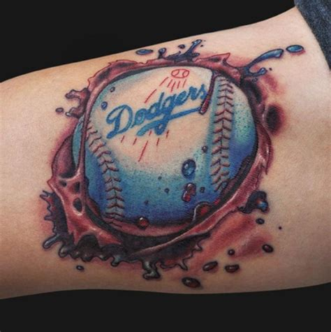 dodgers tattoos 12 best los angeles dodgers images on