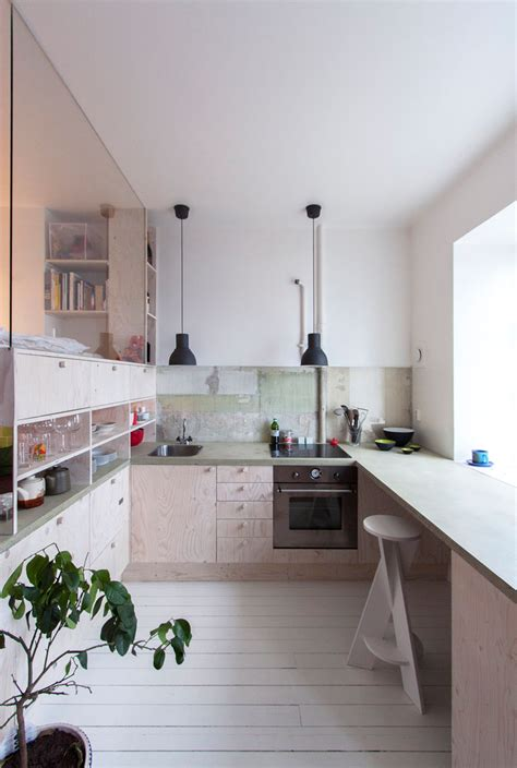 tiny apartment kitchen sleeping in the kitchen unusual layout for a tiny apartment