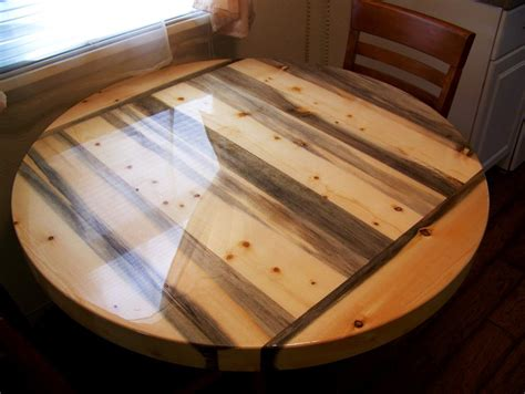beetle kill pine  dining table top  rockyblue