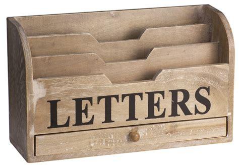 Wooden Letter Rack by Wooden Letter Rack By The Home