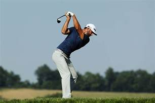 dustin johnson golf swing dustin johnson u s open final round golfweek