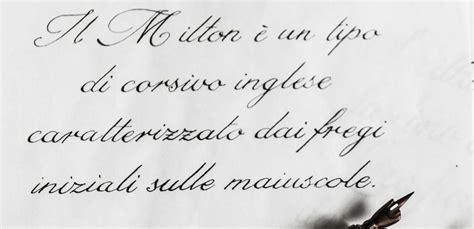 lettere corsivo inglese calligrafia inglese corsivo milton ehi corsi