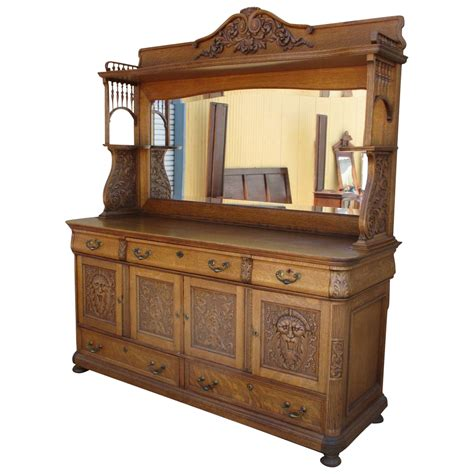 brise vue bois antique oak sideboards and buffets furniture