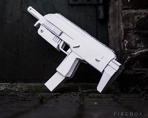 paper craft gun awesome papercraft