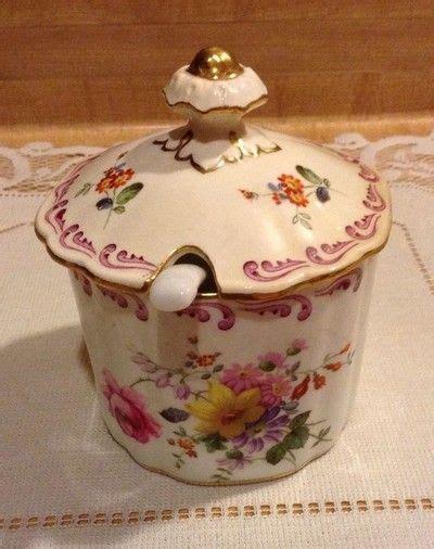 Pot Jar Pot Wadah Kosmetik Crown 1 royal crown derby marmalade jam jar w lid spoon glenmont pattern jam honey pot or jar