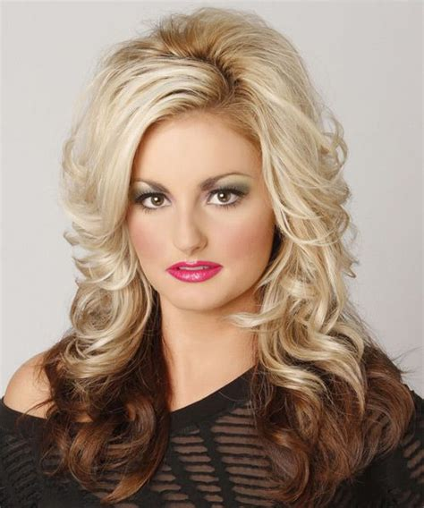 two tone color hairstyles pictures two tone hairstyle medium length formal long wavy