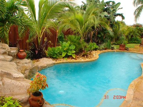 Landscaping In Florida by Pool Landscaping By Construction Landscape Creating Your