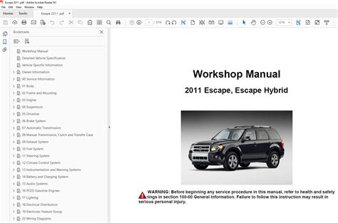 service manual motor repair manual 2012 ford escape navigation system ford escape sound ford escape 2010 2012 factory repair manual