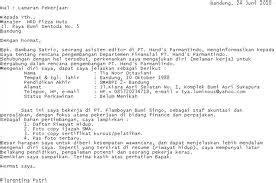 menulis surat lamaran kerja online langkah menulis lamaran kerja yang baik lowongan kerja