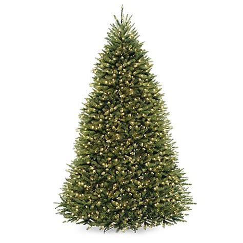 national tree company 9 foot dunhill fir pre lit christmas